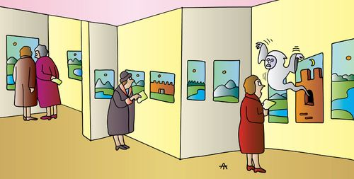 Cartoon-museum. Here You Will Find Two Floors Of More Than
