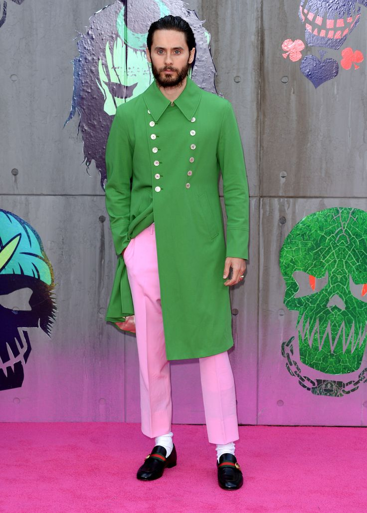 Jared Leto wearing a Gucci green coat that he saw while attending a Gucci show months earlier. Toggle Thumbnails W Magazine SUBSCRIBE