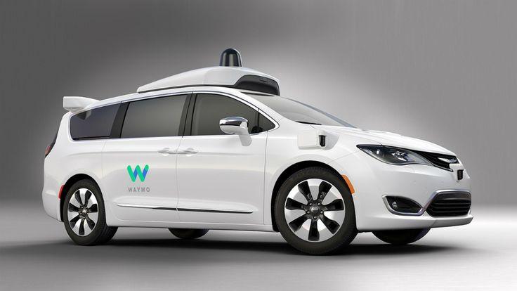 Беспилотный минивэн Google представили под брендом Waymo