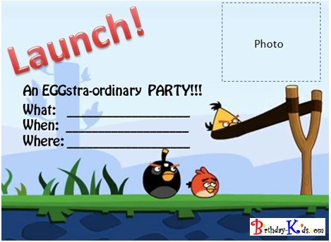 9 best angry bird images on Pinterest Bird party, Angry birds - birthday invitation templates word