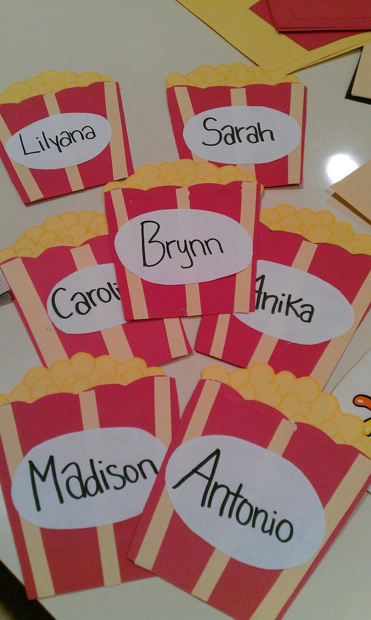 Cubby labels I'm making for my Hollywood themed classroom. 7 down, 13 to go!