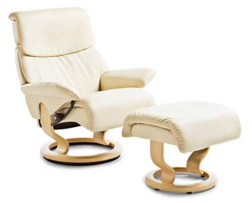 Stressless Vision Chair with footstool