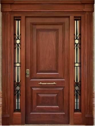 Best 25 puertas modernas de madera ideas on pinterest for Puertas principales de madera