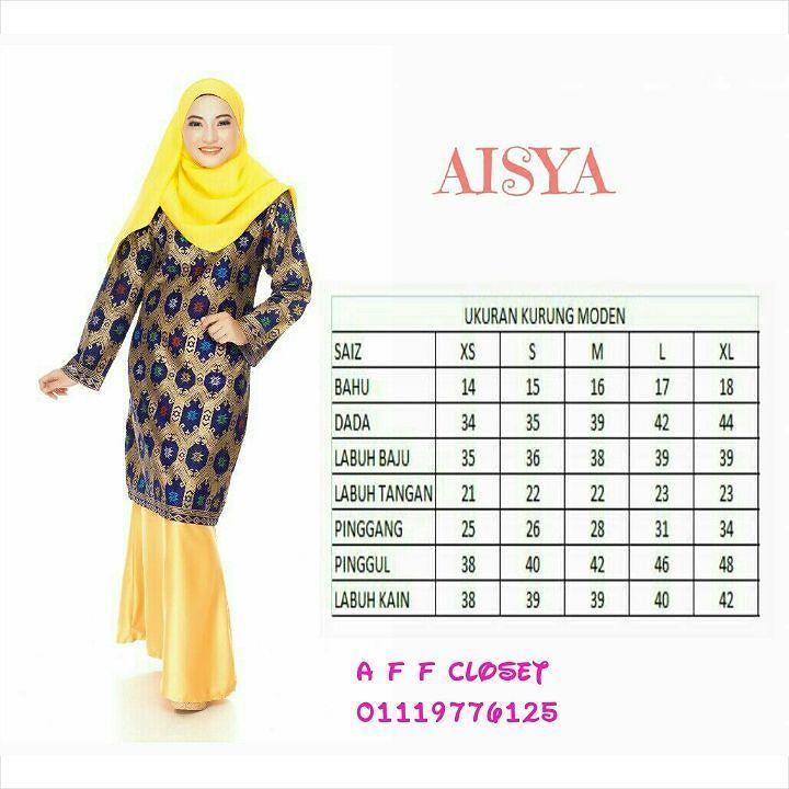 """http://www.youtube.com/channel/UCqEqHuax3qm6eGA6K06_MmQ?sub_confirmation=1 KOLEKSI AISYA  Harga : RM130  POSTAGE :  SEMENANJUNG SEPASANG RM6  2 PASANG RM9 3 - 4 PASANG RM15 SABAH / SARAWAK SEPASANG RM10 2 PASANG RM15 3 - 4 PASANG 20 Kurung Moden Songket Sarawak Material baju """"cotton"""" batik sarawak Material kain Dull Satin Potongan kain """"Mermaid"""" Jahitan pinggang """"getah - separuh kon"""" Saiz available dari S hinggal XL Tidak turun warna bila dicuci Kain tidak mengecut walau selepas dicuci…"""