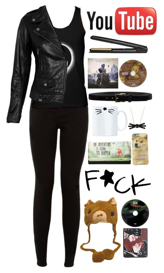 """Dan Howell inspired"" by mayapappaya ❤ liked on Polyvore featuring VIPARO, Disney, GHD and D'Amico"