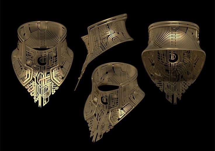 Concept Art - Jupiter Ascending: Creative supervision of 3d printed costume elements