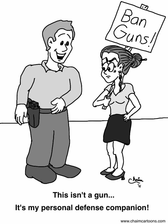 Constitutional Carry: My gun is not a weapon; it's a self defense tool!