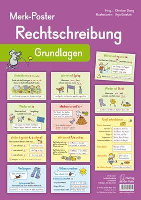 Merk-Poster - Rechtschreibung – Grundlagen ++ #Poster für den Klassenraum, Fach…