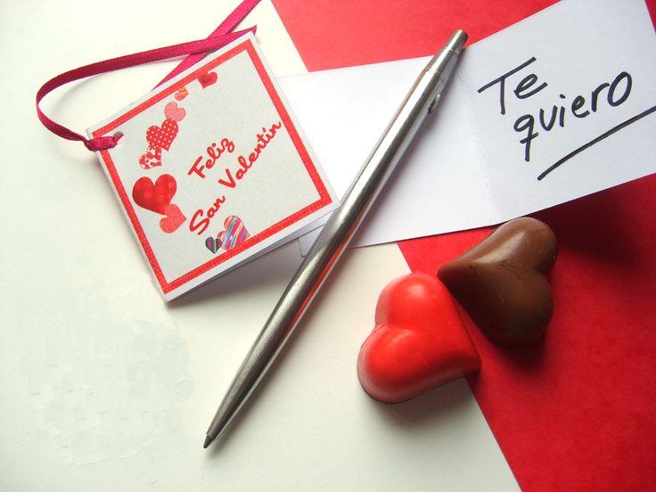 Estrenando nuevo modelo de tarjetita por San Valentín: Las MINITARJETITAS.