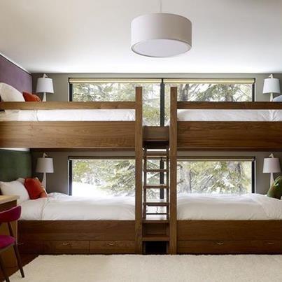 Bedroom Designs Double Deck 16 best double decker beds images on pinterest | bunk rooms