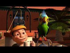 El Pingüino y la Gallina - Canciones de la Granja de Zenón 3 - YouTube