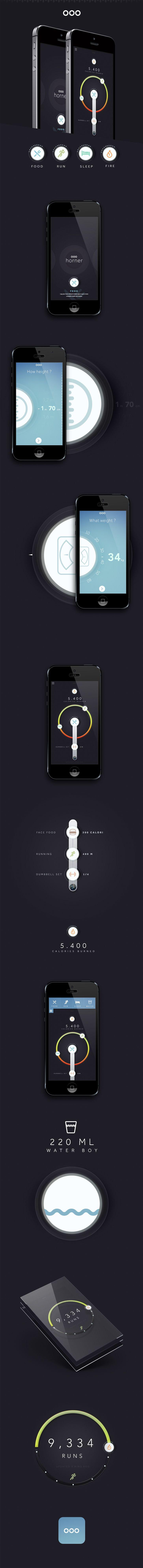 Nice app controlling calories, activities etc..