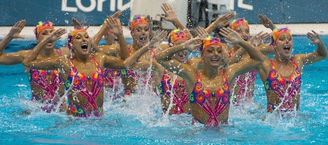 """This photo was from 4 years ago at the London Summer Olympics: Synchronized swimming - the sport where you have to smile. Now I hear you, """"We don't 'have to' do anything. We have free will"""". Buttt, synchronized swimmers are judged on their ability to make all the crazy stuff they do look effortless - the more they smile, the higher the scores. #dental #dentalhygiene #dentalcare #dentist #dentistry #tips #happysmile #ilovedentistry #dentalhealth #health…"""