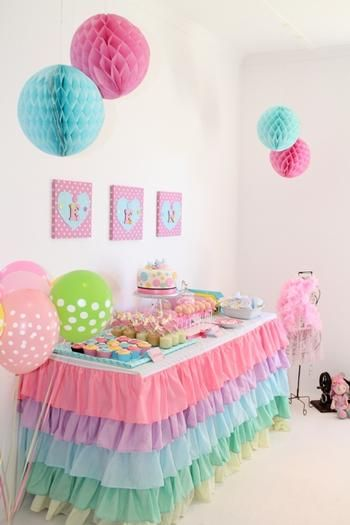 Hostess with the Mostess® - Cute as A Button 1st Birthday Party