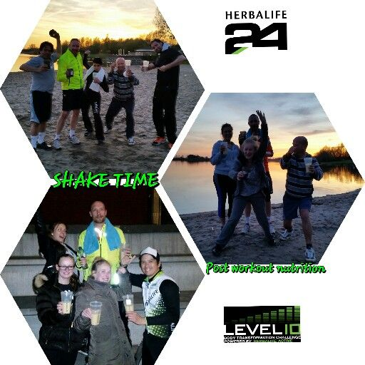 24FITCLUB Fit&Fun bootcamp shaketime  Enjoying a delicious postworkout shake after a superb training. For better and faster #recovery.  Cheers!!! healthy nutrition by Herbalife.  Get a Healthy active lifestyle! The fun way.  #rebuildstrength #herbalife24 #smoothie #helppeople #healthcoaches  #fitweare #fitness #bootcamp  #BoostNutrition #bethebestyoucan #level10 #bethemovement #herbaresults