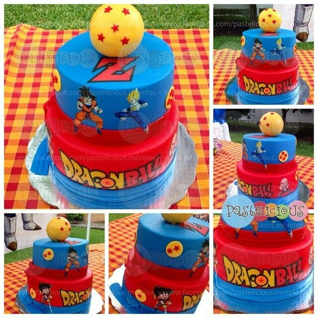 Dragon Ball Z Cake Decorating Kit : 1000+ images about Zaid s birthday party ideas on ...