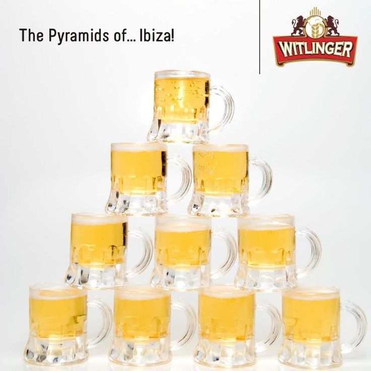 Workers who built the pyramids of Giza worked under the influence. Archeologists discovered that they would drink up to 4 litres of beer everyday. Whew, doesn't that make you thirsty? You can cool down with a crisp, cold Witlinger Wheat Ale. #WitlingerBeer #WheatBeer #CraftBeer
