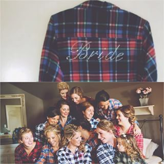 flannel shirts bridesmaids - Google Search