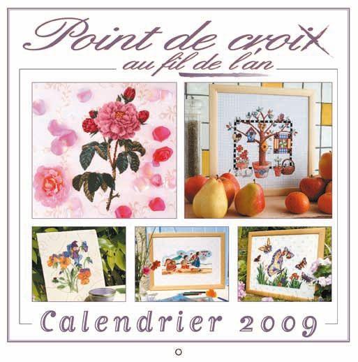 Point de Croix - Kalender 2009   Martinas Bastel- & Hobbykiste