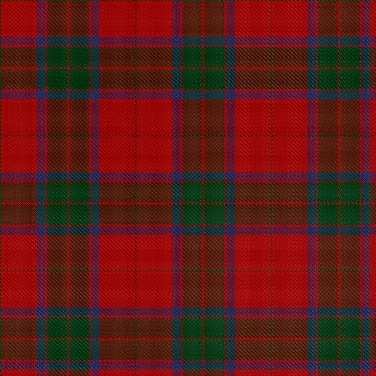 Robertson Clan Tartan #1