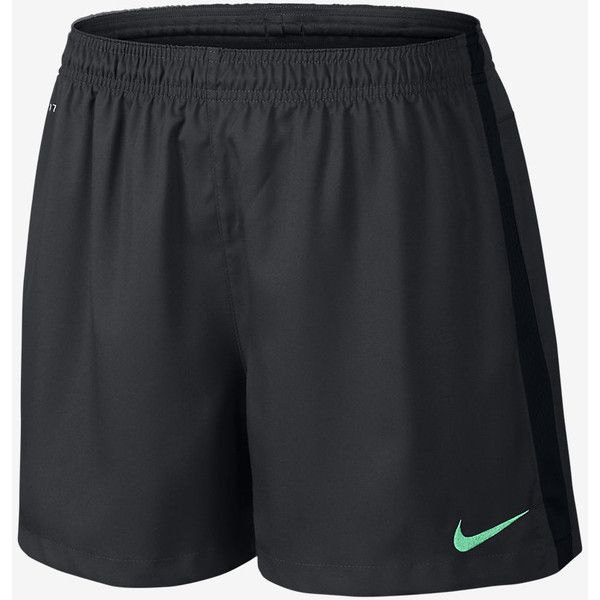 Nike Squad Woven Women's Soccer Shorts. Nike.com ($30) ❤ liked on Polyvore featuring nike