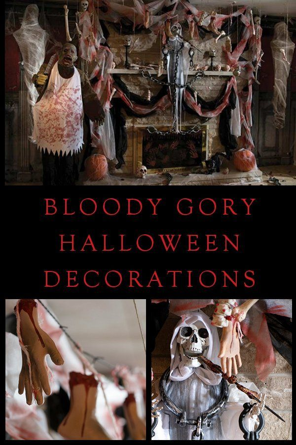 Halloween Decor - You\u0027ll be seeing red with this wide selection of - halloween scene setters decorations
