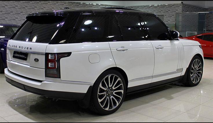 New Range Rover sport.