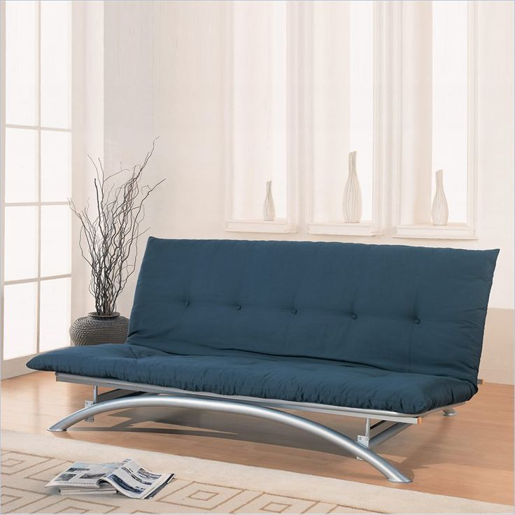 Silver Metal Futon Frame - 300008 - Lowest price online on all Silver Metal Futon Frame - 300008