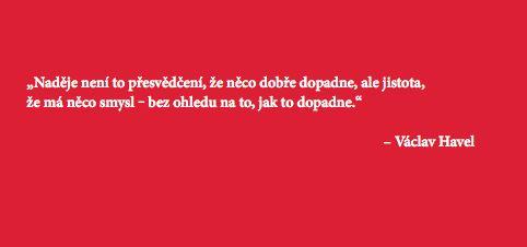Havel: O naději...