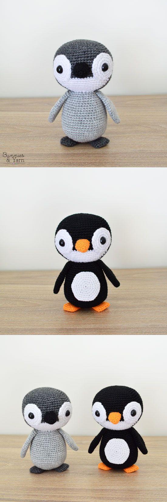 Crochet Pattern - Yves the Lovely Penguin - Amigurumi