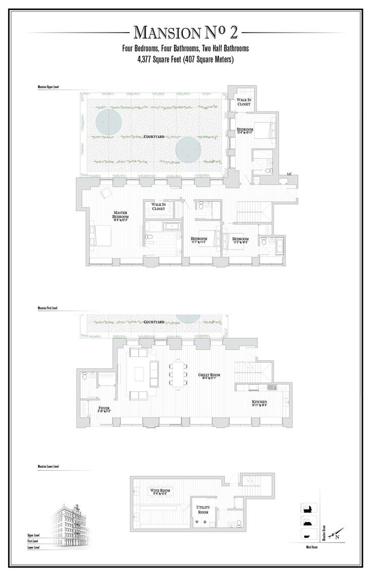 591 best luxurious apartments images on pinterest penthouses floorplan 1 jpg 923 1432