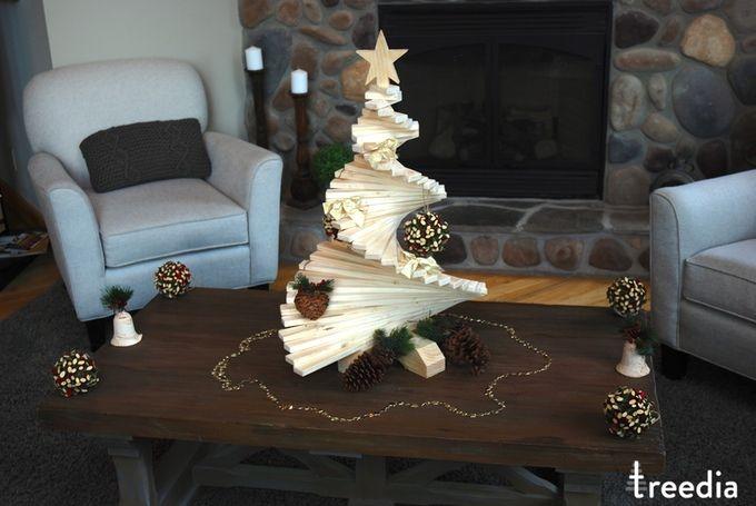 Treedia: Weihnachtsbaum aus….Holz!? Verrückt! -