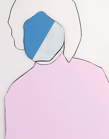 Gary Hume: 2 Sprüth Magers Berlin (you have been here sometime)
