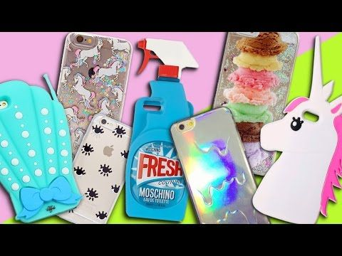 HUGE IPHONE CASE COLLECTION - YouTube
