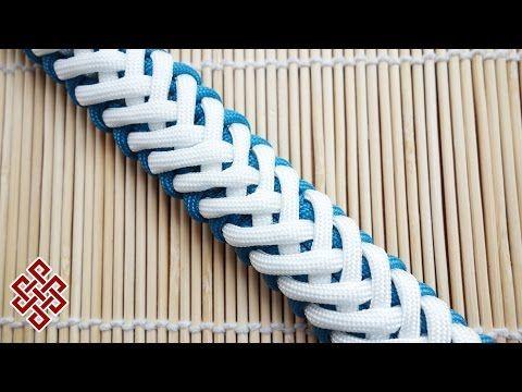 Modified Skeleton Paracord Bracelet Tutorial - YouTube