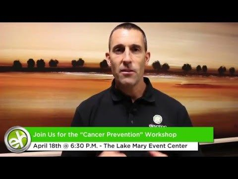 EH Cancer Prevention Workshop April 2016 - WATCH VIDEO HERE -> http://bestcancer.solutions/eh-cancer-prevention-workshop-april-2016    *** cancer prevention information ***   Find out the TRUTH behind cancer screening, Mammograms, Radiation, Chemotherapy, Surgery And Other Forms Of Treatment. Date: April 18th @ 6:30PM Join Dr Yachter as he teaches on preventing cancer at the cellular level. Location: The Lake Mary Event...