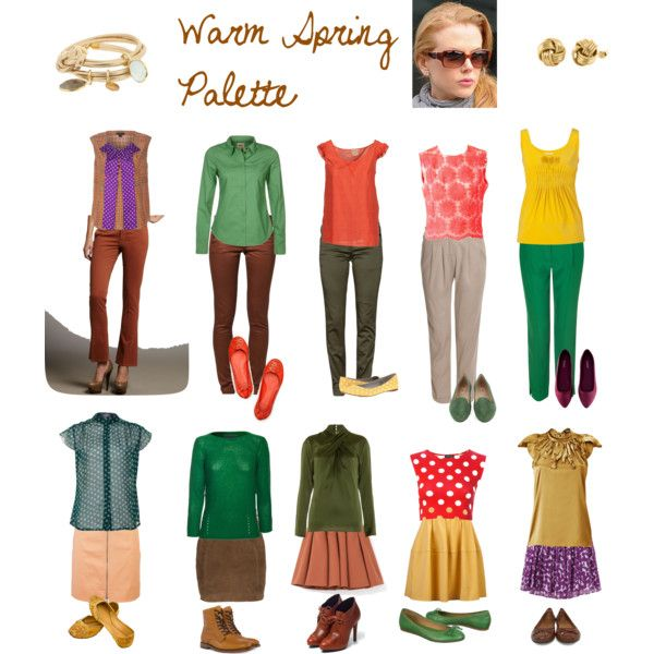 Warm Spring Palette Warm Spring Outfits Warm Spring Palette Warm Spring Colors
