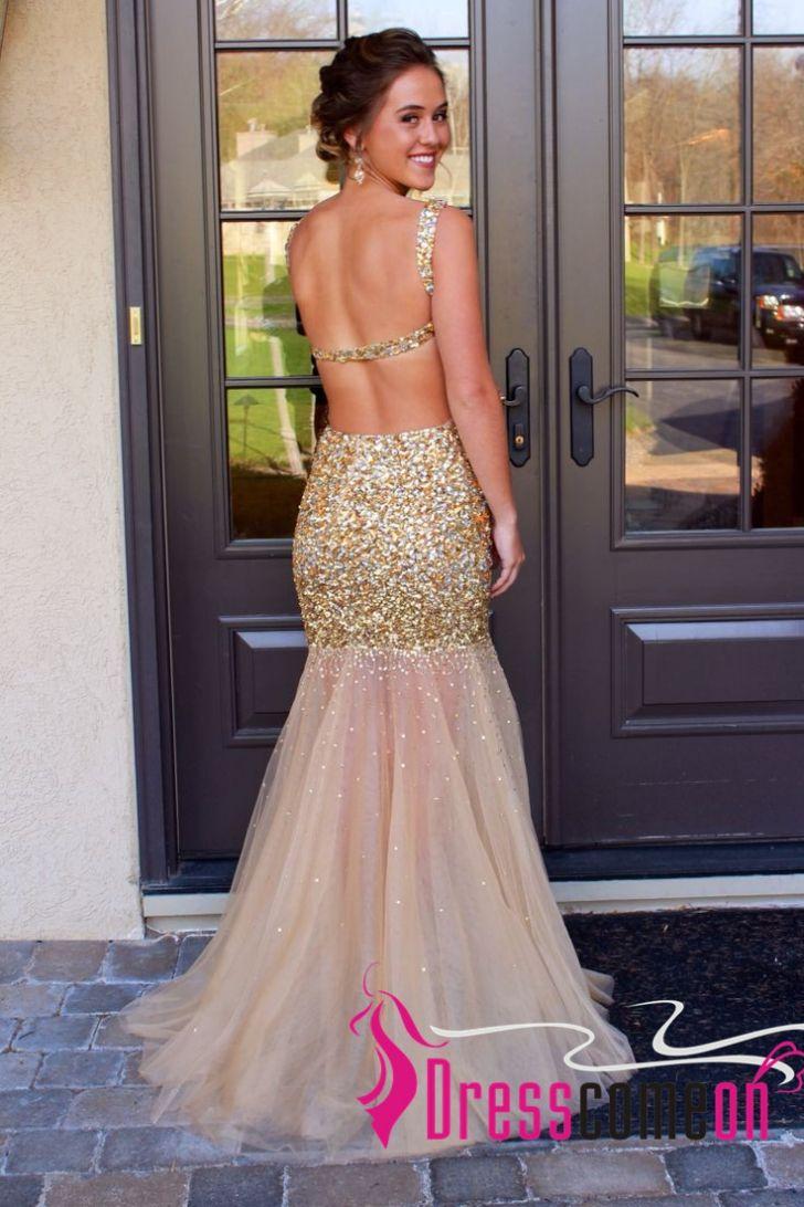 Best 20+ Gold mermaid prom dresses ideas on Pinterest | Cheap ...