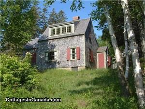 Miss Marsters' Cottage, New Brunswick