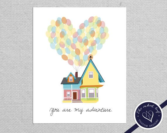 Home decor inspired by disney pixar movie up carl and for Disney home decorations