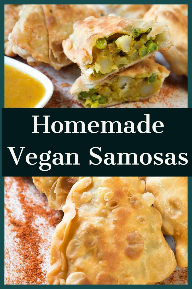 Vegan samosas are simply one of my favorite things to eat. They are so delicious…