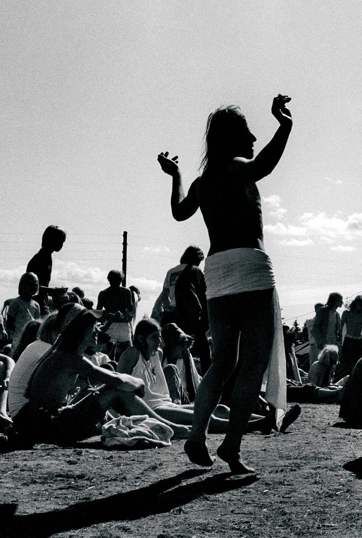 Provo-knud i Thylejren, sommeren 1970