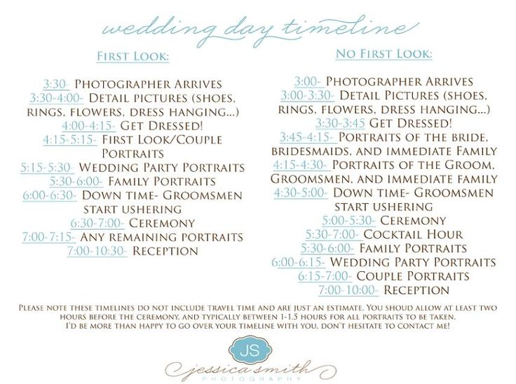 The 25 best wedding day timeline ideas on pinterest wedding day yes but everything 1 hr earlier wedding day timeline 4pm ceremony google search junglespirit Images