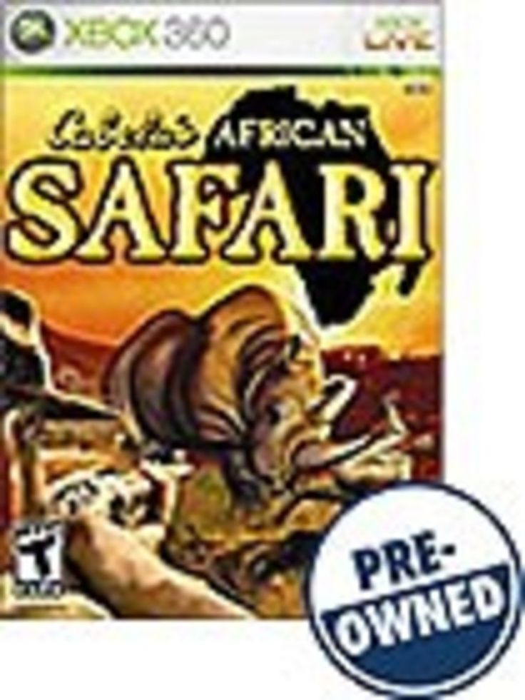 Cabela's African Safari — PRE-Owned - Xbox 360