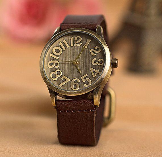 50 % de femmes hors vente, montre, montres, Women Watch cuir, femmes montre-bracelet, montre Vintage, les femmes et les hommes watchY008 on Etsy, 6,02€
