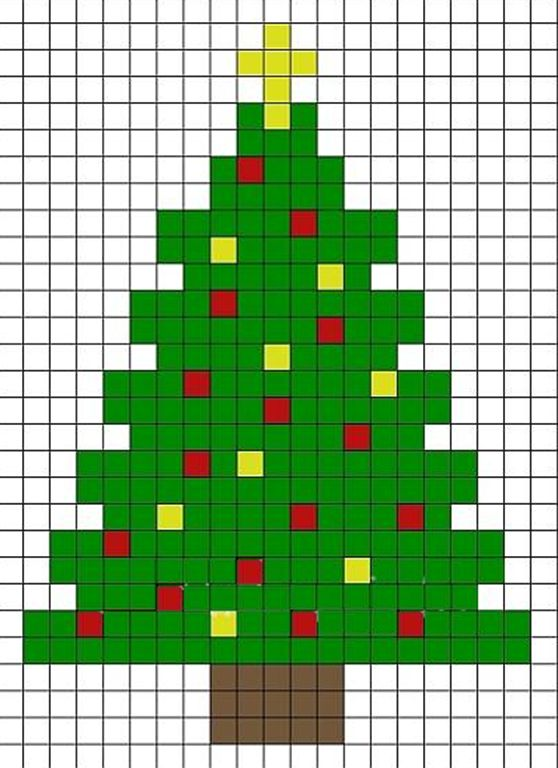 Tree Christmas cross stitch.