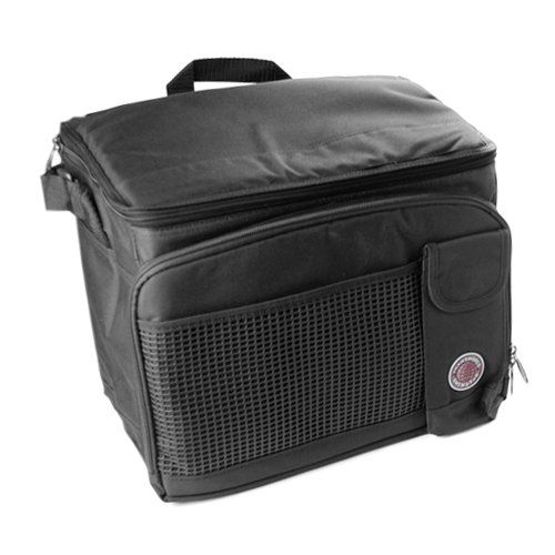 "Amazon.com: Durable Deluxe Insulated Lunch Cooler Bag (Many Colors and Size Available) (12""x10""x8 1/2"", Black): Kitchen & Dining"