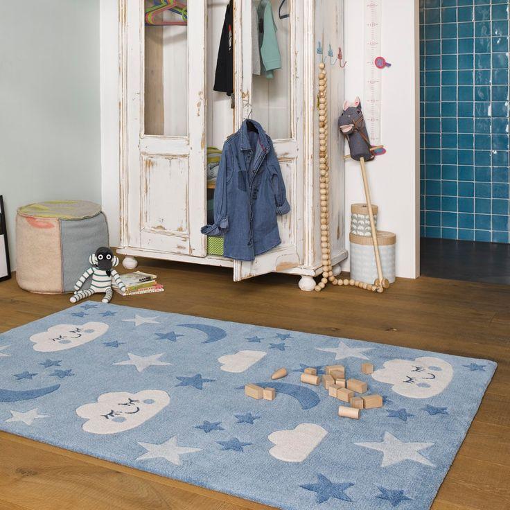 Kinderteppich Blau Lalelu Smart Kids Kinderteppiche Teppich Kinder