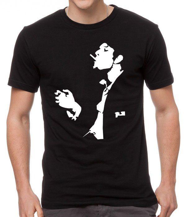 Tom+Waits+Rock+Indie+Rock+Pop+Music+Black+Men+T-Shirt
