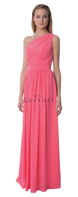 Hermosa Vestido De La Dama De Honor Factura Levkoff Fotos ...